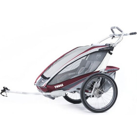 Thule Chariot CX2 + Cycle Kit Burgundy (10101324)